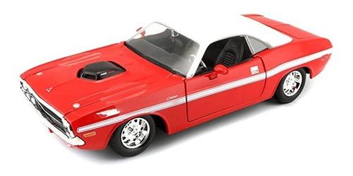 Auto Escala 1:24 Dodge Challenger R/t Coupe 1970 - Maisto