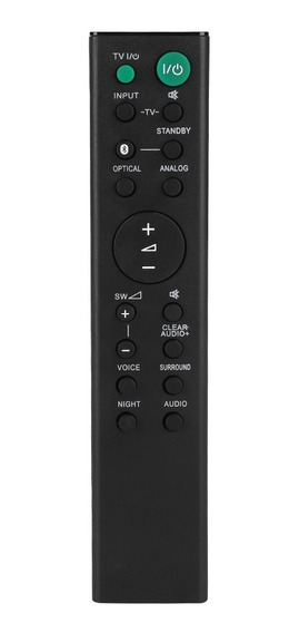 Controle Remoto Para Sony Rmt-ah100u Barra De Som Ht-ct180/s
