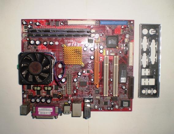 Lote 6 Kits Placa Mãe M863g + Cooler + Processador + Memória