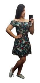 Vestido Ciganinha Florido 44