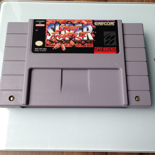 Cartucho Super Street Fighter 2 Original - Super Nintendo