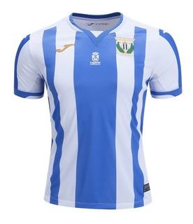 Camisa Deportivo Leganes 18/19 Unif. 1 - Pronta Entrega