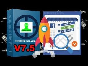 Novo Simpel Audiens Facebook Extrator 7.5 Update 24/2019
