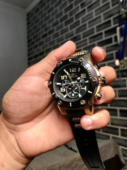Relógio Invicta 17200 Banhado Ouro 18k