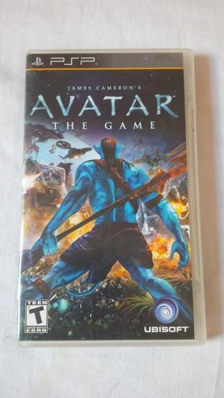 Avatar The Game Psp Original Completo