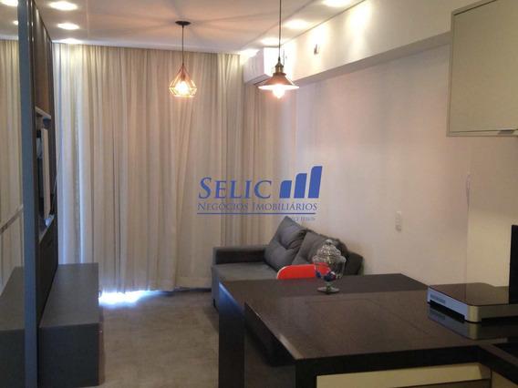 Línea Home Style, Flat Mobiliado Centro, Jundiaí, Cod: 93 - A93