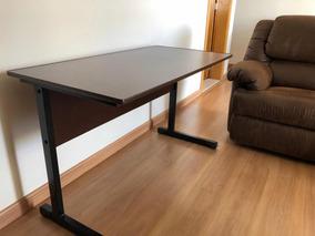 Mesa Escrivaninha Marrom Barata