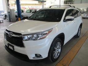 Toyota Highlander Limited, 6 Cil, Color Blanco, Modelo 2015
