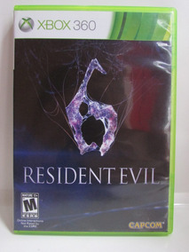 Resident Evil 6 - Game Xbox 360 Completo Original Americano