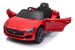 Auto Eléctrico Niño 12v, 2 Motores, Original Maserati Ghibli