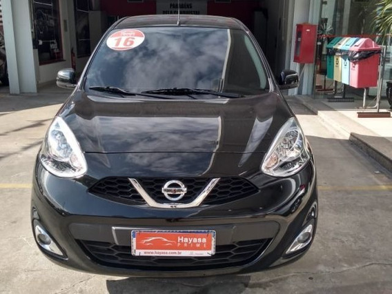 Nissan March Sv 1.6 16v Flex, Bag6554
