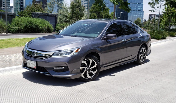 Honda Accord 2016 Exl Navi V6 2016 Sedan Grafito Impecable