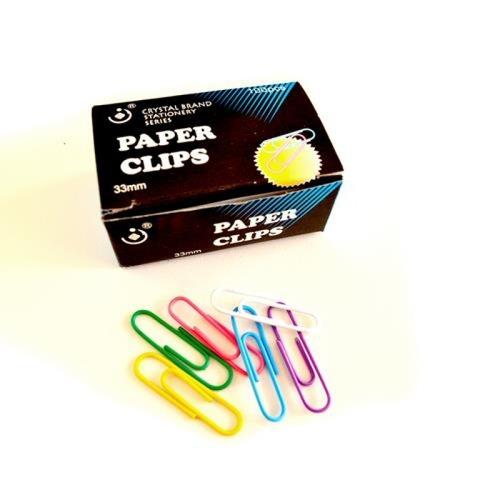 Clip Plastificado Redondo 33mm X 2