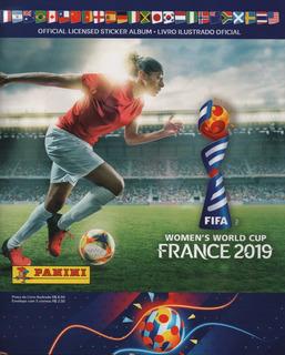Álbum Figurinha Copa Do Mundo Feminina 2019 Completo P/colar