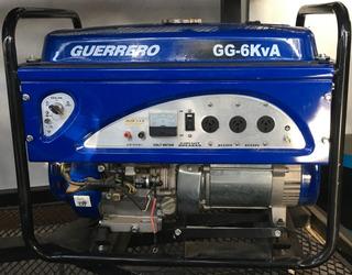 Grupo Electrógeno - Generador Guerrero Gg - 6kva