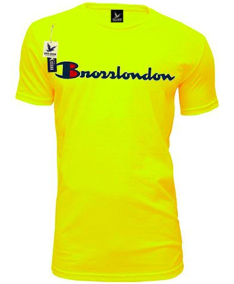 Remera Bross London Est Relieve Color