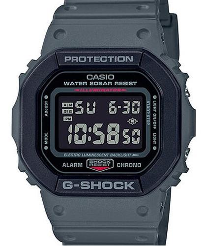 Relógio Casio G-shock Masculino Cinza Dw-5610su-8dr