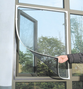 Tela Mosquiteira Magnetica Block Insetos 130x160 3 Cores