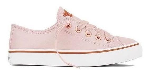 Tênis Capricho Like Class Rosê/cobre Cp0542