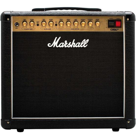 Amplificador Marshall DSL DSL20CR Valvular 20W