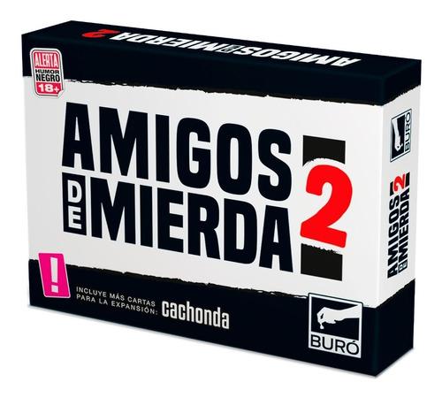 Imagen 1 de 10 de Amigos De Mierda 2 Juego De Previa - Buró