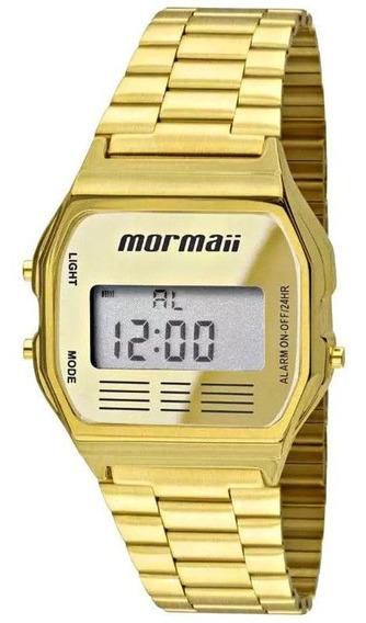 Relógio Mormaii Vintage Dourado Unissex Mojh02ab/4d