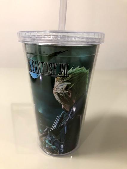 Copo / Garrafa Térmica Final Fantasy Vii 7 - Geek / Gamer