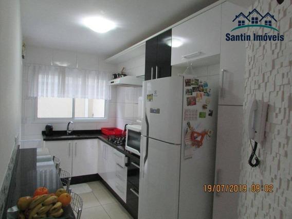 Apartamento Com 2 Dormitórios ( Ambos Com Planejados ),cozinha Planejada, Vaga À Venda, 57 M² Por R$ 175.000 - Afonso Pena - São José Dos Pinhais/pr - Ap1191