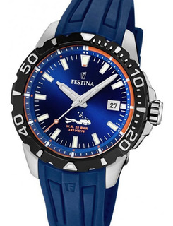 Reloj Festina F20462 Buceo 20 Bar Carcasa Acero Watch Fan
