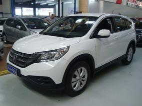 Honda Cr-v Lx 2.0 2012 Branca (completa + Couro)