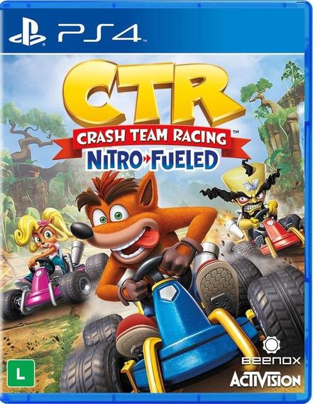 Crash Team Racing Nitro-fueled Ps4 Mídia Digital 1 Promoção