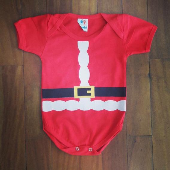 Body Infantil Papai Noel
