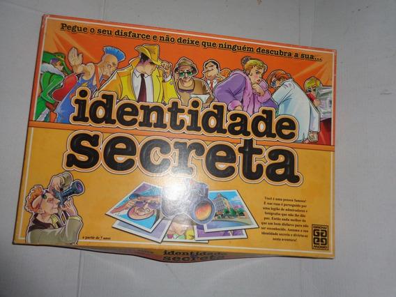 Jogo Identidade Secreta Grow Usado Dj011