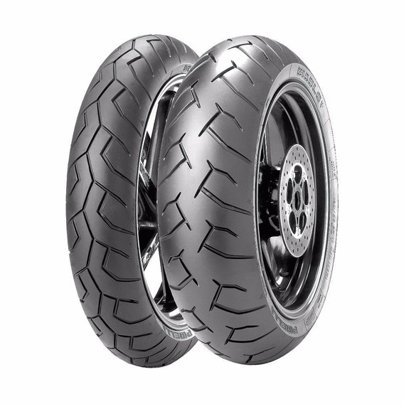 Par Pneus Pirelli Diablo 120/70-17+160/60-17 Cb500