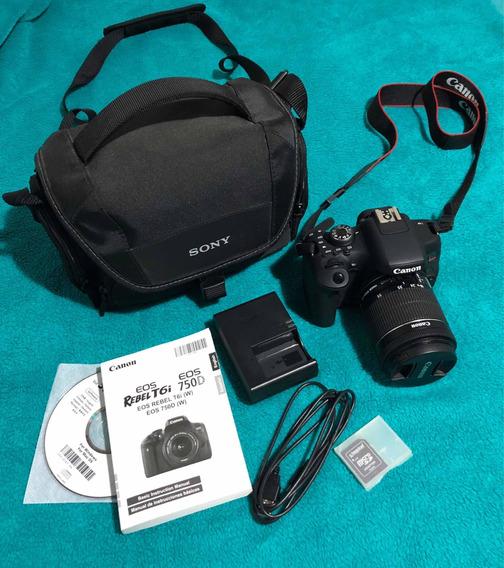 Canon T6i + Acessórios