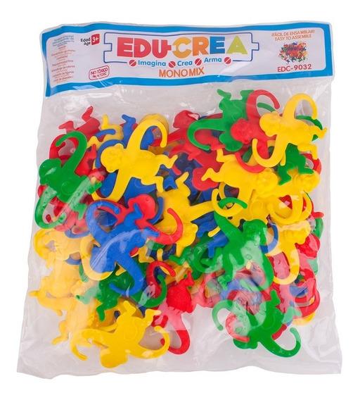 Juguete De Ensamble Changuitos De Plastico