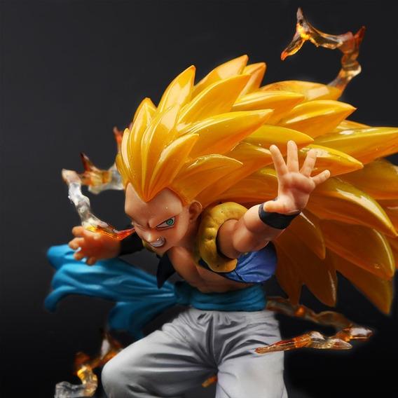 Gotenks Super Saiyajin 3 Dragon Ball Boneco Gotenks
