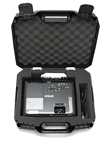 Funda De Viaje Para Proyector Casematix Diseñada Para Eps...