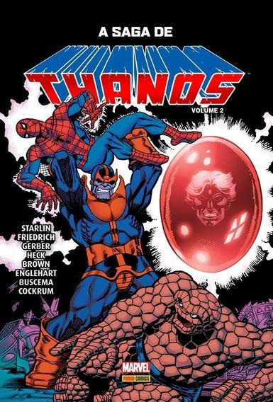 A Saga De Thanos - Volume 2 - Capa Dura