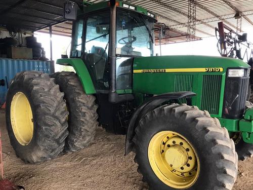 Tractor John Deere 7810 # 14911