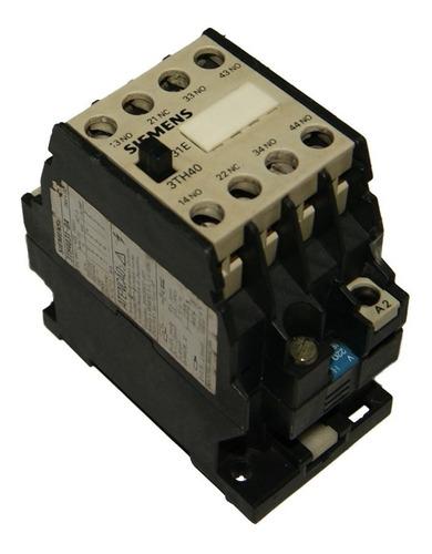 Contactor 16 Amp - Bobina 220v Siemens 3th40 - Cod. 01087