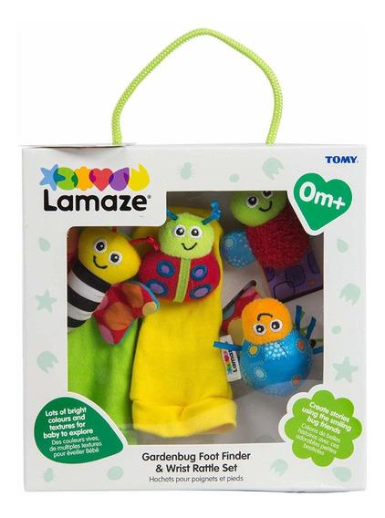 Muñequeras Sonajero Pack Obsequio Lamaze - Bebés Y Niños
