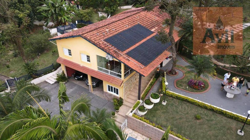 Chácara Com 3 Dormitórios À Venda, 2500 M² Por R$ 770.000,00 - Parque Residencial Itapeti - Mogi Das Cruzes/sp - Ch0011