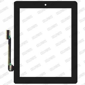Touch iPad 3 / 4 A1458 A1459 A1460 C/ Botão Home Preto + Nf