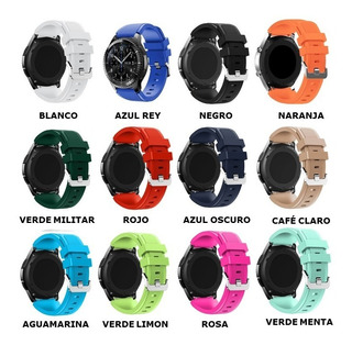 Pulsos Bandas Samsung Gear S3 Por Unidad Mas De 17 Colores