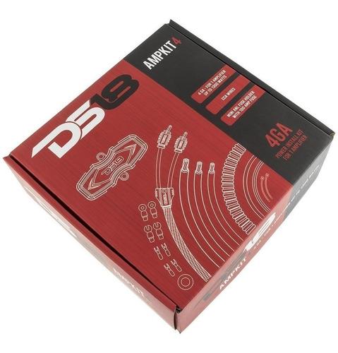 Kit De Cables De Instalacion Ds18 Completo 4 Gauges Ampkit4