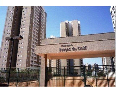 Apartamento Residencial Para Locação, Vila Do Golf, Ribeirão Preto. - Ap3864