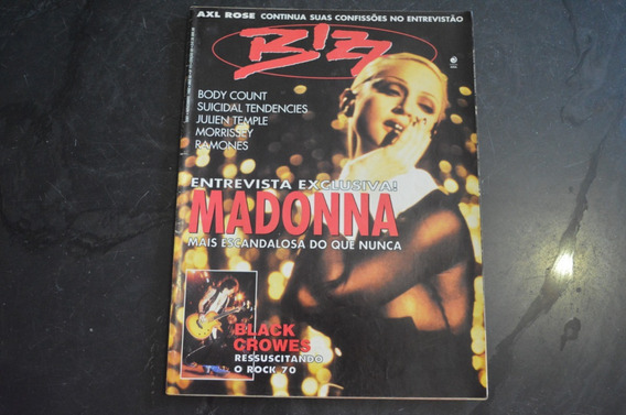 Bizz 88 Madonna Revista