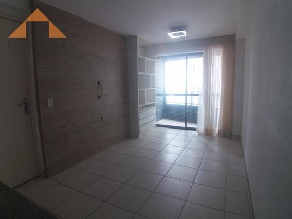 Apartamento Com 2 Quartos Para Alugar, 49 M² Por R$ 2.400/mês - Boa Viagem - Recife/pe - Ap0943