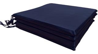 Almohadones Para Sillas Ecocuero 40x40 Pack X4